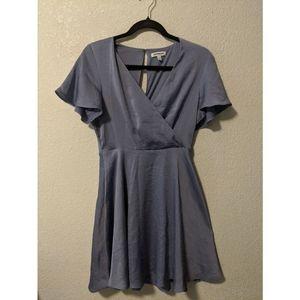 Mini purple/iredescent Express Dress